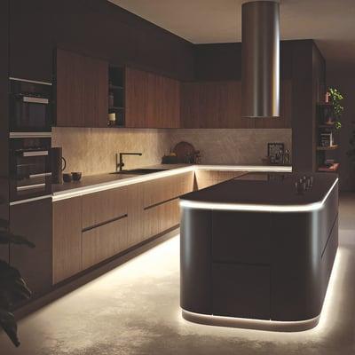 Ledbeleuchtung Kücheninsel